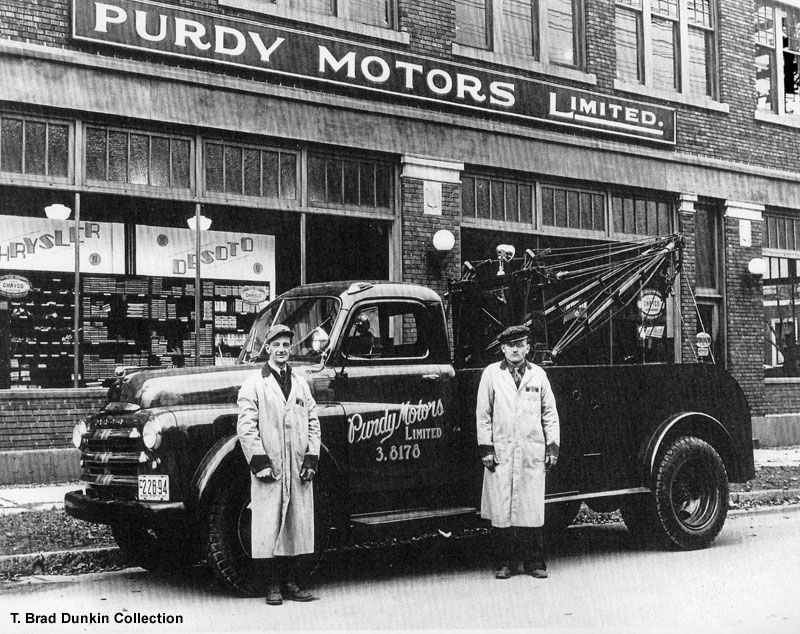 It appears that auto dealers used to be located in downtown ...