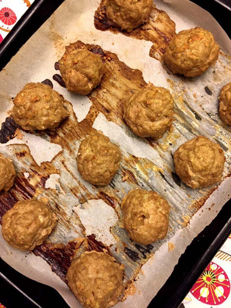 Baked glutenfree meatballs recipe with oatmeal recipe
