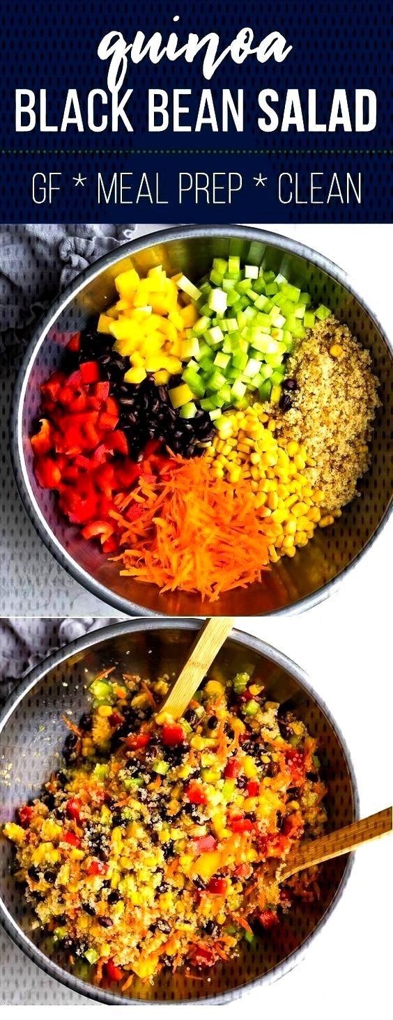 Refreshing Quinoa Black Bean Salad - Quinoa -