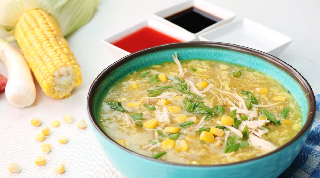 Chicken Corn Soup I Recipe In Urdu English Available At Sooperchef
