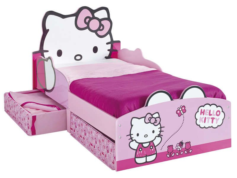 promo lit enfant hello kitty lit