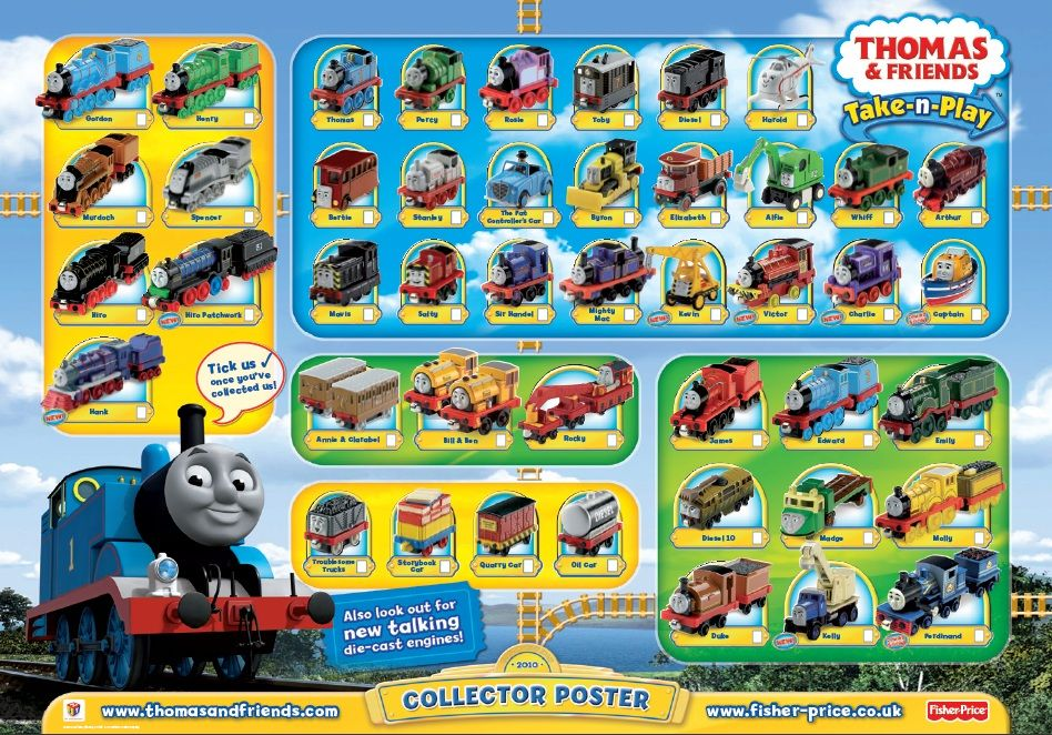 Galleries Thomas And Friends Characters Poster