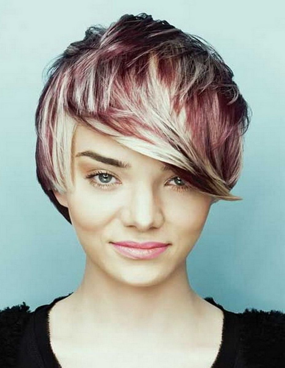 New Cute Short Messy Hairstyles For Straight Hair Haircuts Color
