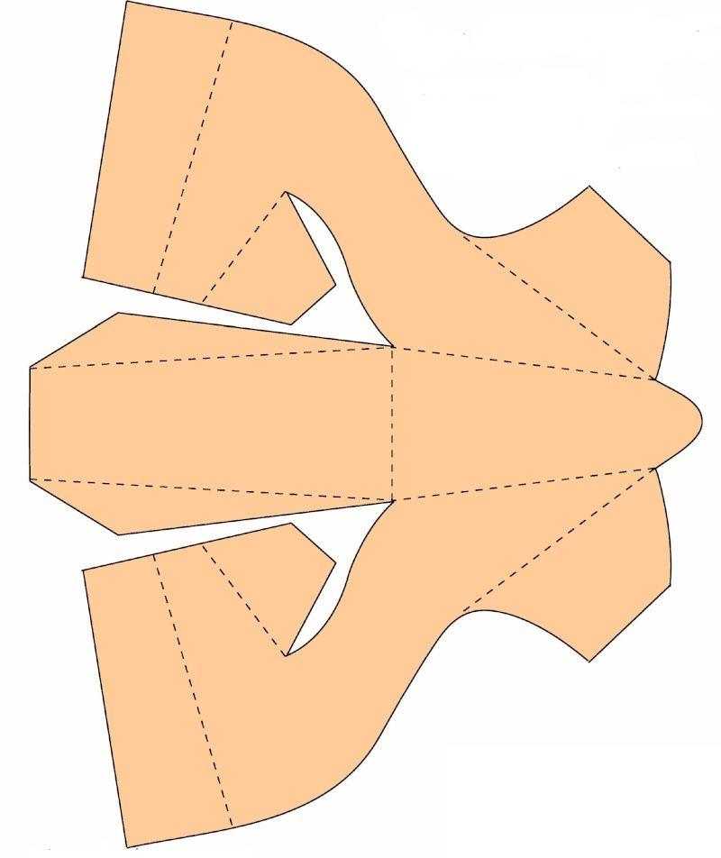 Открытки туфельки из бумаги, подписать