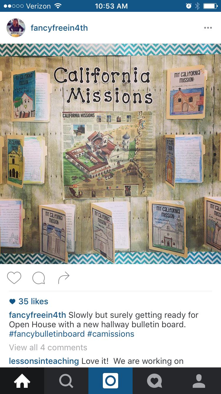 Pin By Pamela Evola On Classroom California Missions 4th Grade Social Studies California History Projects California Missions Project