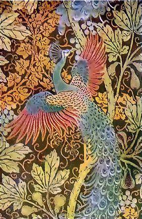 Walter Crane Wallpaper Design Walter Crane Bird Illustration Peacock Art