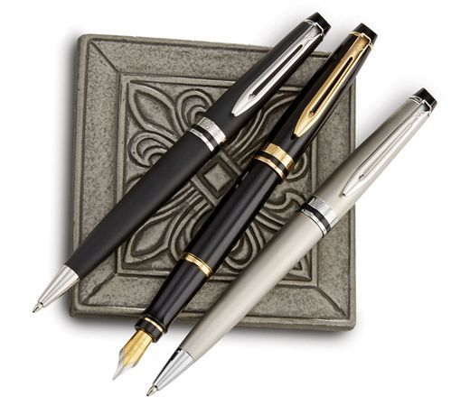 Monteverde W13 Soft Roll Ballpoint Refill Fit Waterman Pens Black Medium |  eBay