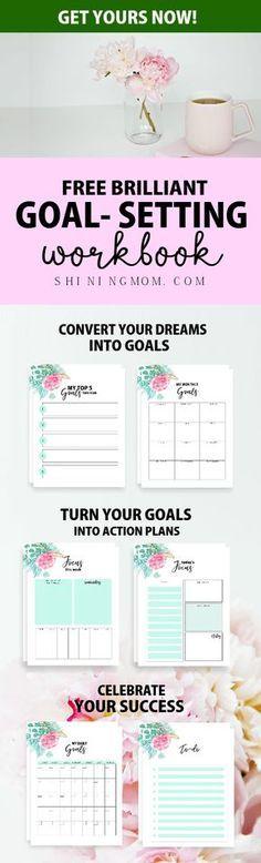 Free 2018 Goal Setting Planner 10 Brilliant Worksheets! Goal - action plan work sheet