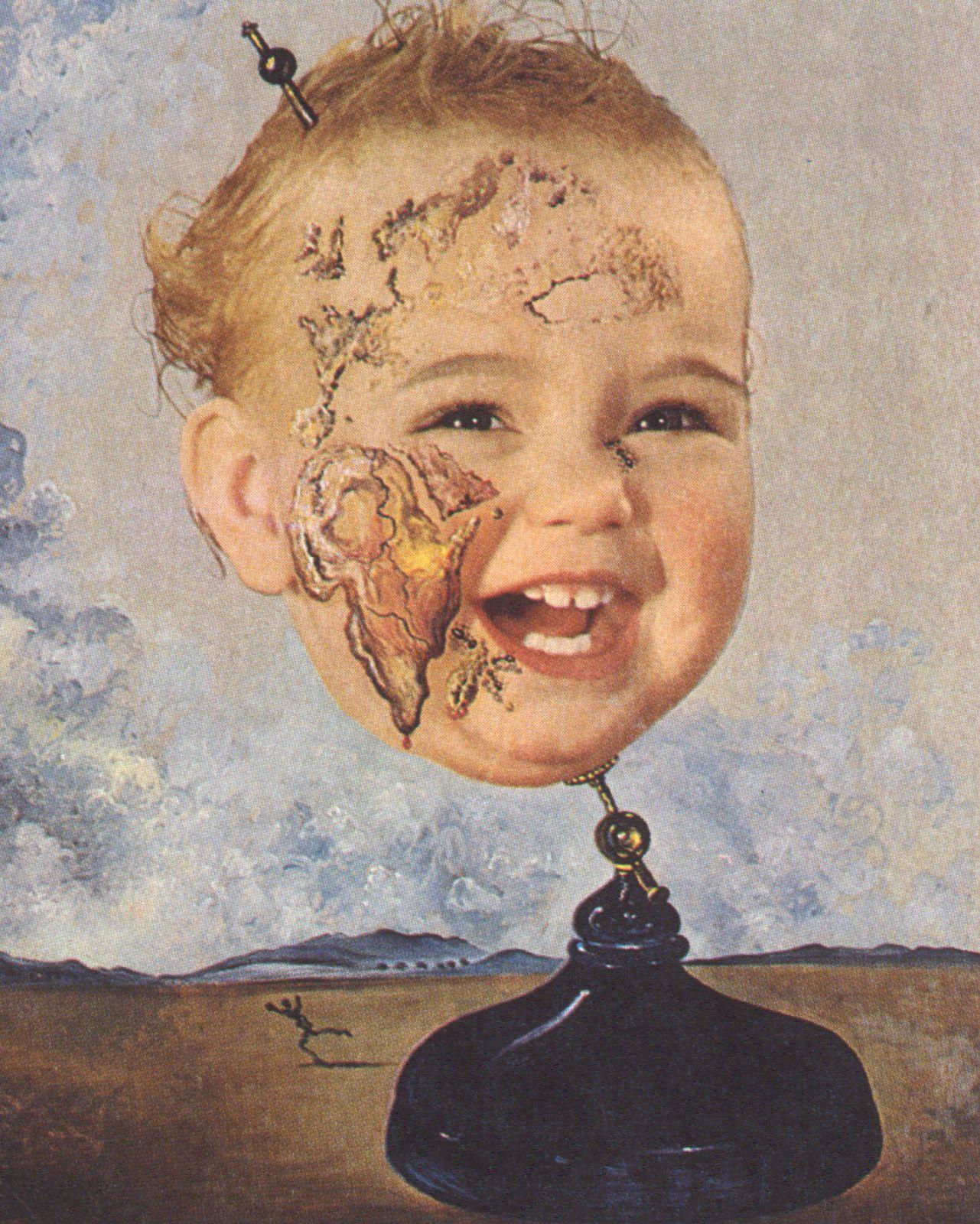 Baby Map of the World - Dali Salvador Dali Artwork, Salvador Dali  Paintings, Surreal