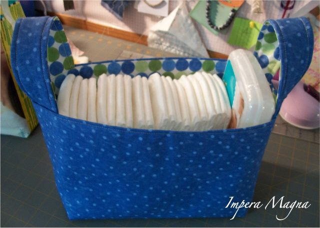 The Adventures of the Empress of the Universe: Fabric Storage Bin for Baby Gift