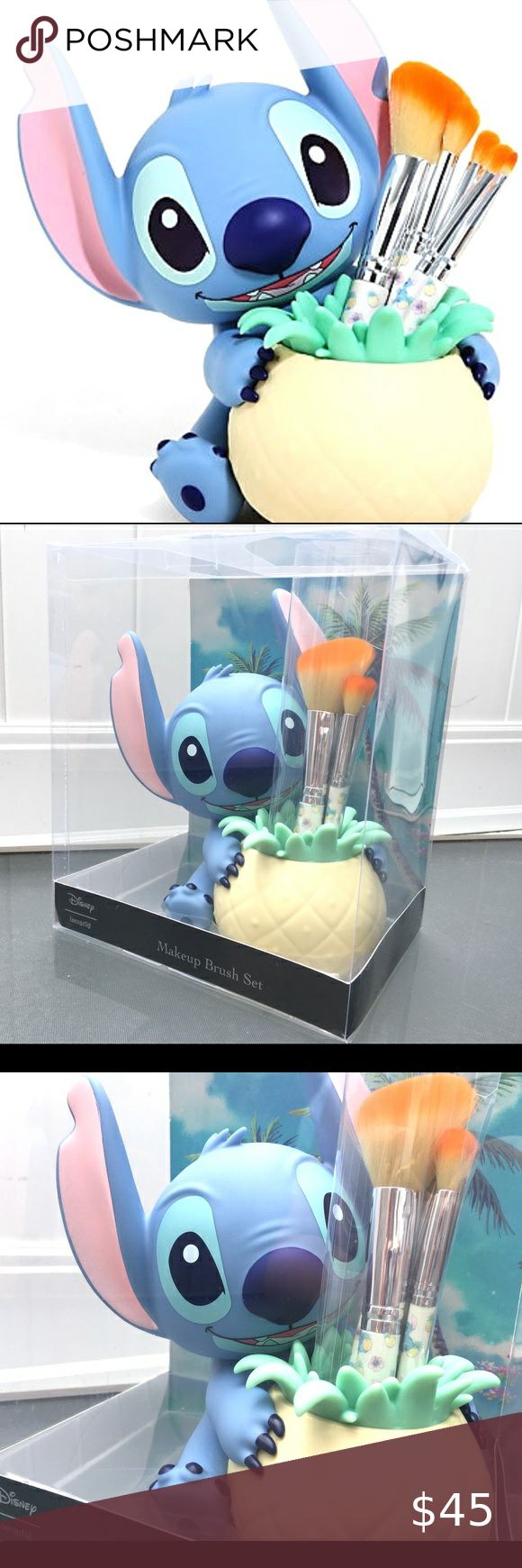 Stitch🍍Makeup Brush Ser in 2020 Stitches makeup, Clothes