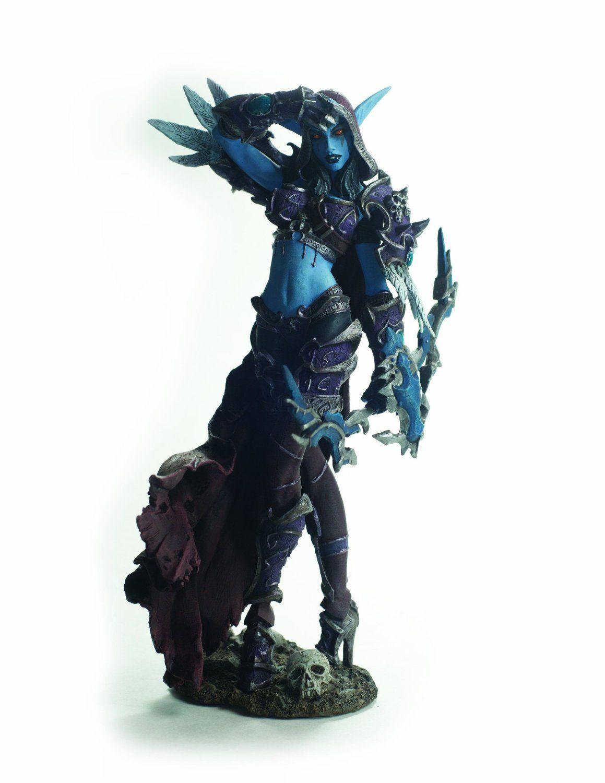 World of Warcraft Illidan Arthas Sylvanas Action Figure WOW 7/'/' Statue In Stock