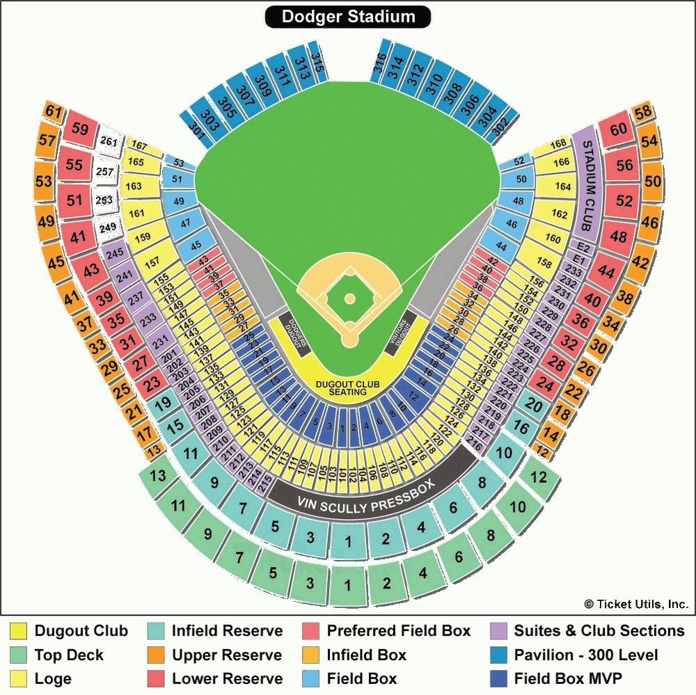 48 Dodger Stadium Detailed Seating Chart With Seat Numbers Helpful Inside Dodger Stadium Seating Chart With Dodger Stadium Dodger Stadium Seating Chart Dodgers