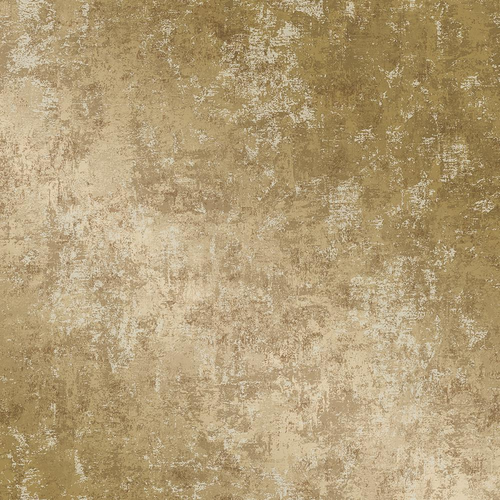 Tempaper Distressed Gold Leaf SelfAdhesive Removable