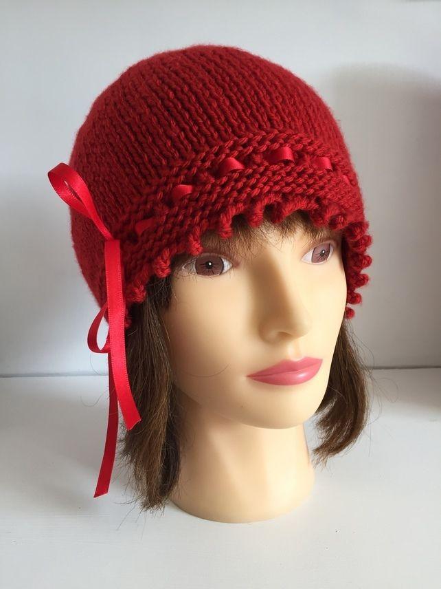 34b7a01dbcb Womens Red Hat
