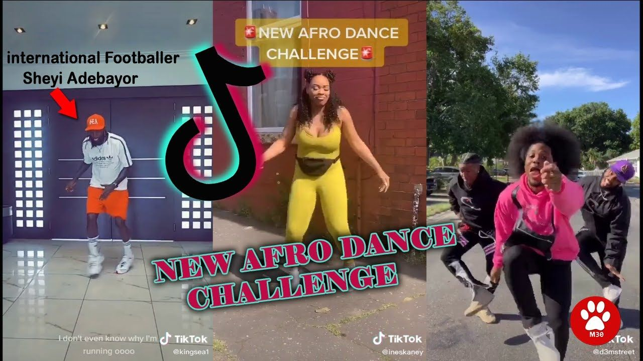 New Tiktok Afro Dance Challenge Compilation Best Tiktok Challenge June Afro Dance Challenges Afro