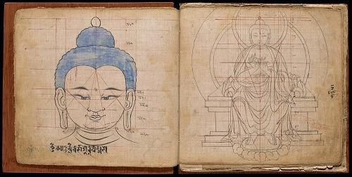 Geometria budista: ciência das proporções por trás da iconografia de Buda