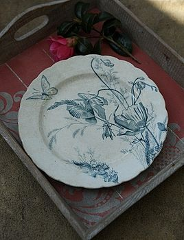 Gorgeous plate
