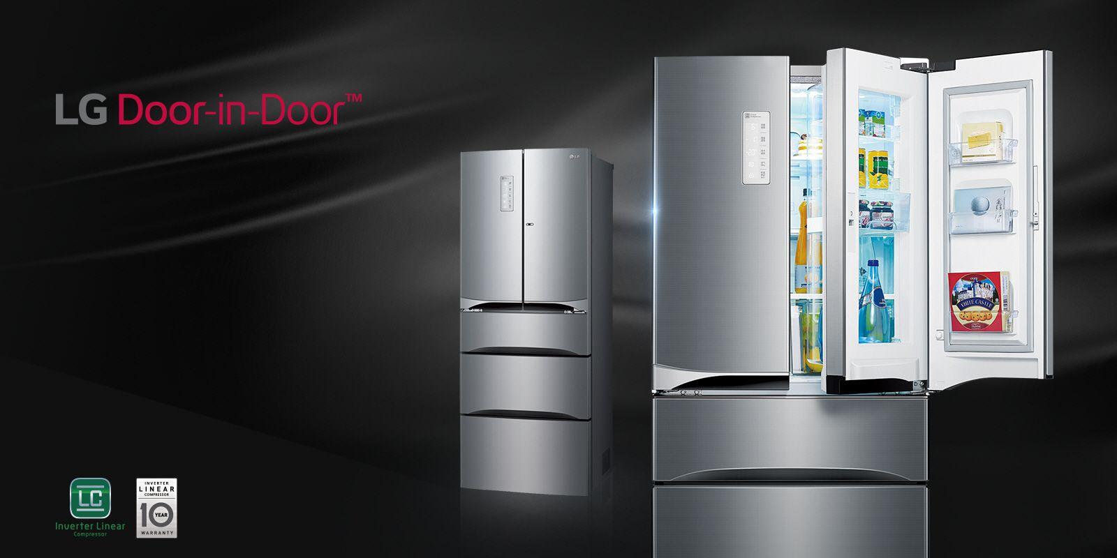 Lg Fridge Freezers Tall Narrow Wide Refrigerators Lg Uk