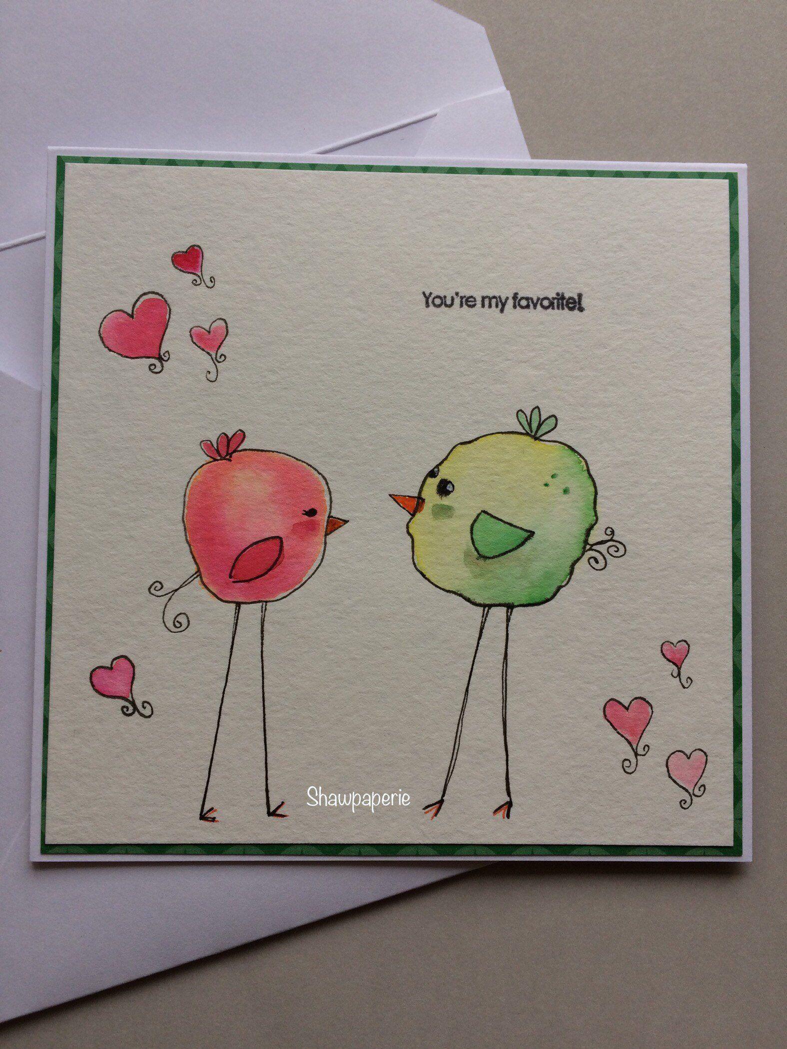Sh Handmade Watercolor Anniversary Card Etsy Watercolor Anniversary Card Card Drawing Anniversary Cards