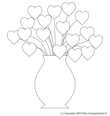 Coloriage Coeur A Imprimer