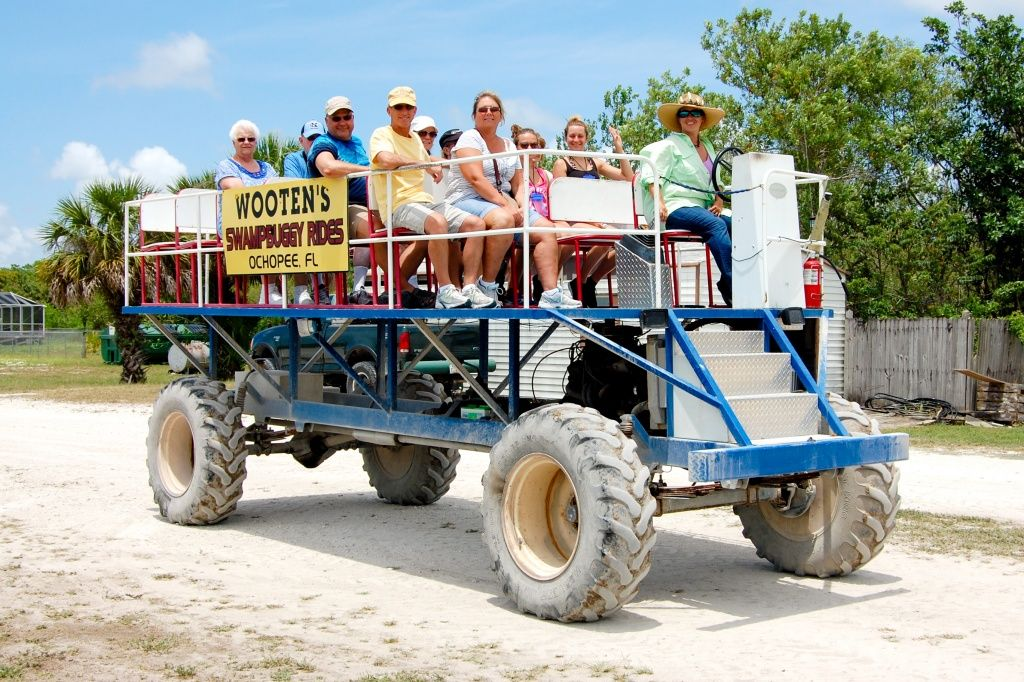 Discover the Everglades with Wooten's Florida vacation