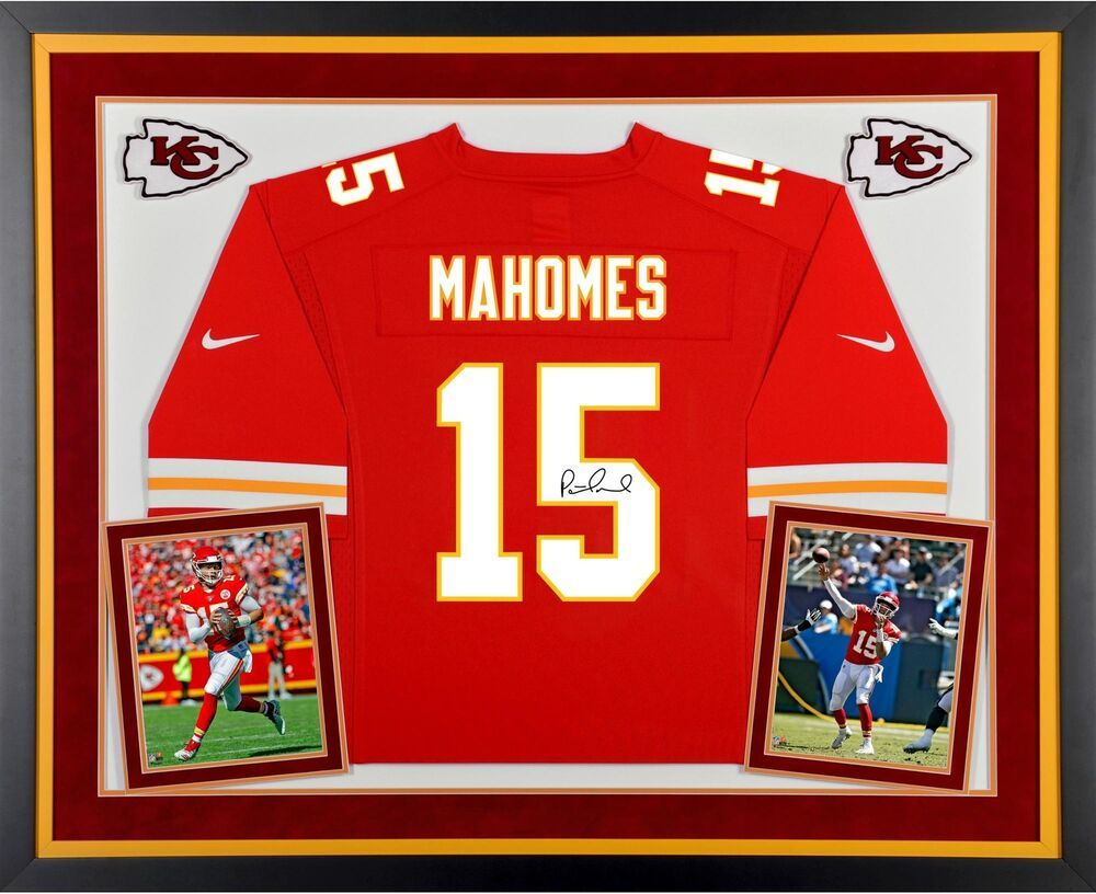best authentic 5cf72 0e1d9 Autographed Patrick Mahomes Chiefs Jersey Fanatics Authentic ...