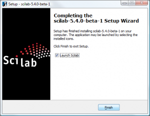 Step by step guide on how to install Scilab under Windows