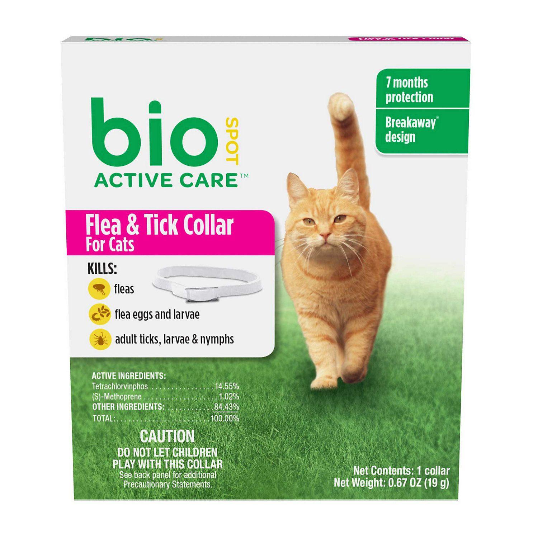 7.95 Bio Spot Active Care Flea & Tick Collar For Cats