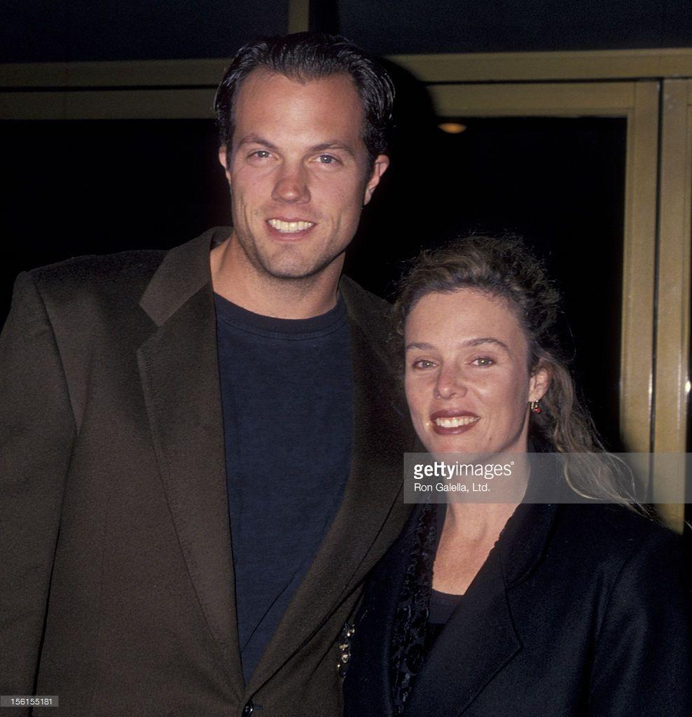 Adam Baldwin mit niedlicher, Ehefrau Ami Julius