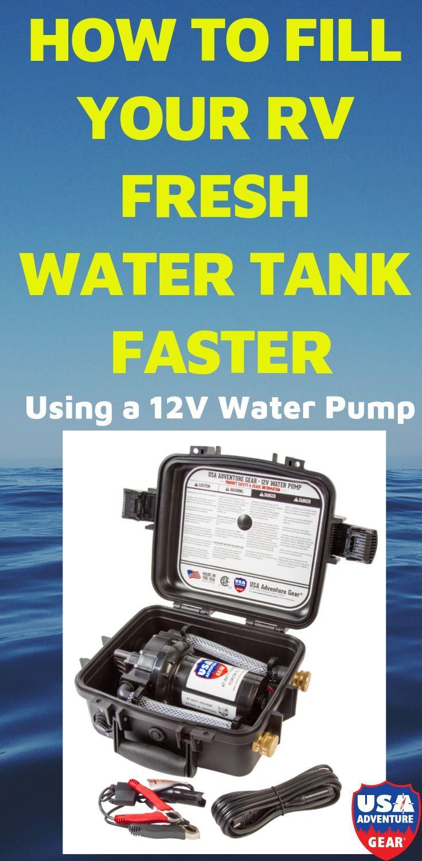 Yukon XL 12 Volt DC Water Pump 5GPM Adventure gear