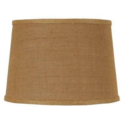 Threshold™ Burlap Drum Lamp Shade - Brown Large