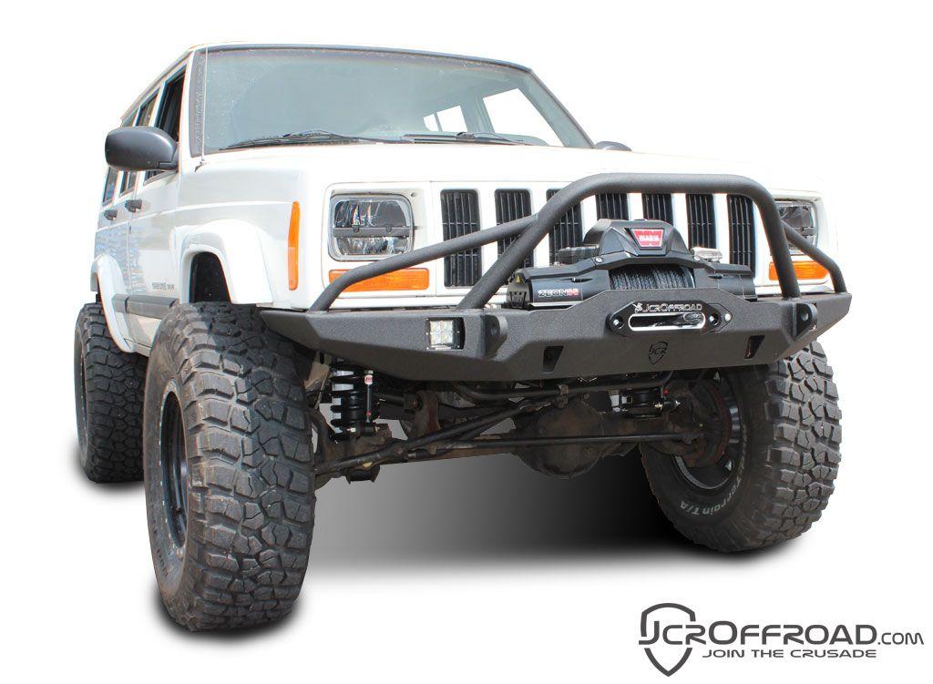 Jeep XJ Winch Bumper Vanguard PreRunner Cherokee (8401)