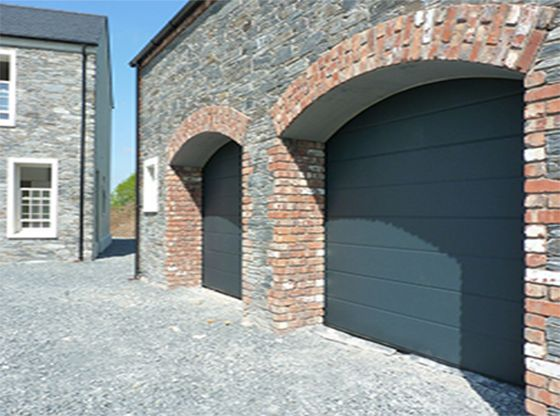 ThermAdor Residential insulated sectional garage doors are manufactured using Kingspan door panel and Kingspan components. & ThermAdor Residential insulated sectional garage doors are ...
