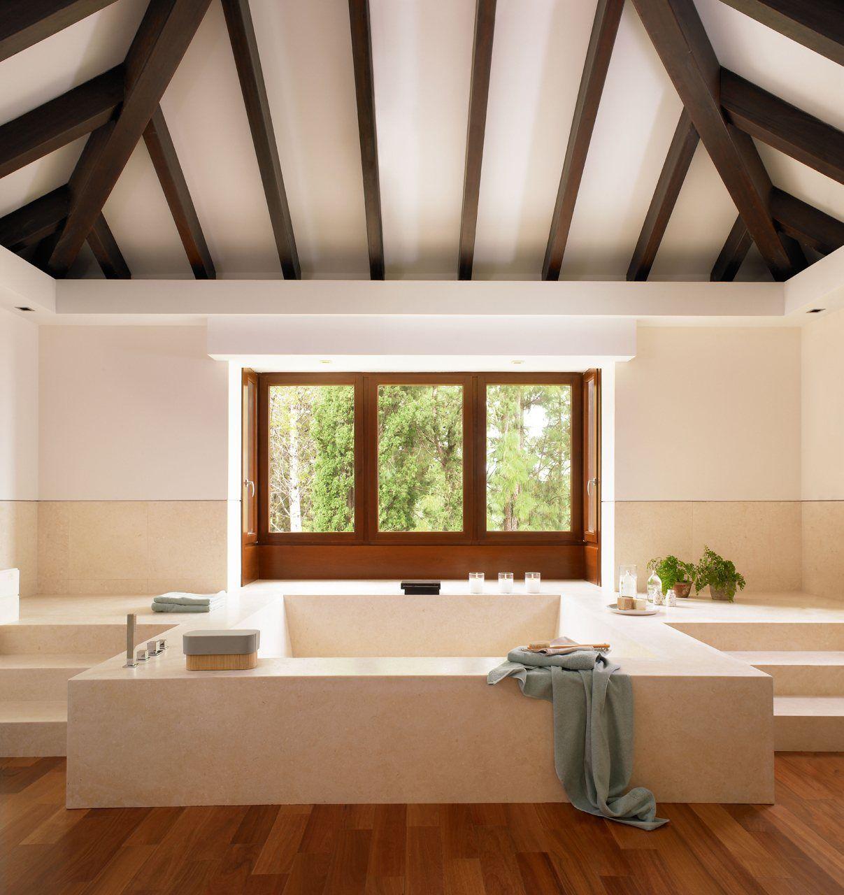 Un baño perfecto para relajarse   Décoration intérieure ...