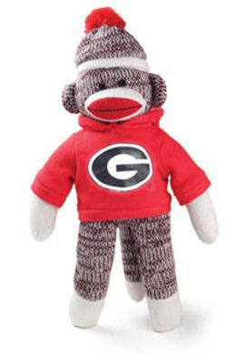 20859cd0b92 Product  University of Georgia 20-inch Sock Monkey Plush
