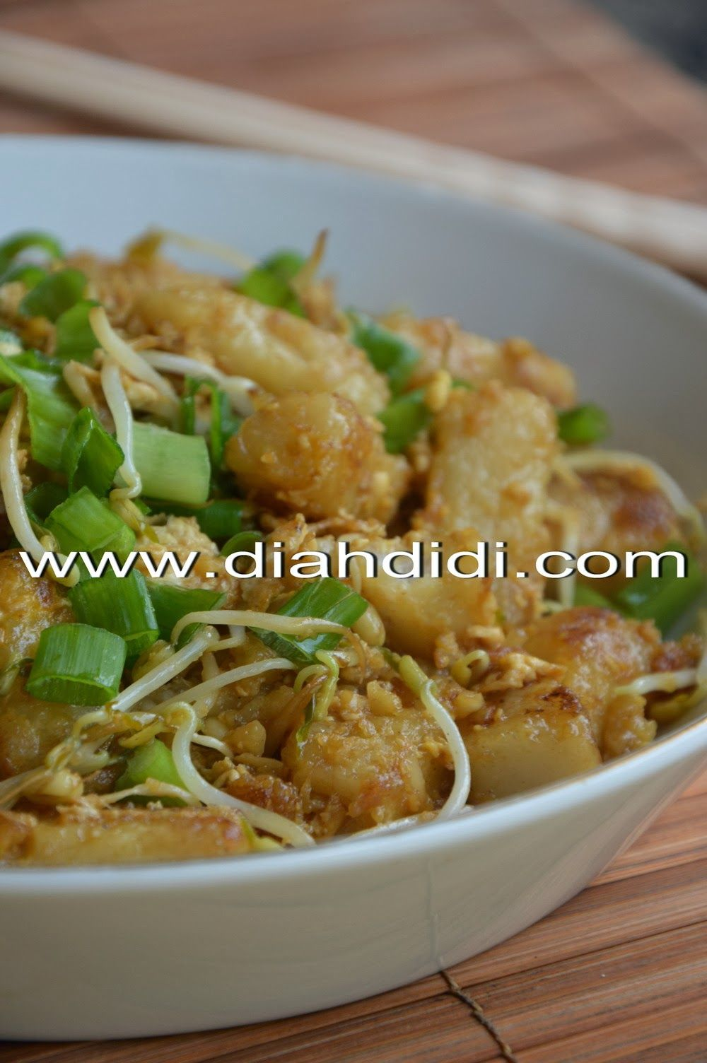 Kue Lobak Goreng Chai Tau Kway Lobak Resep Makanan Masakan