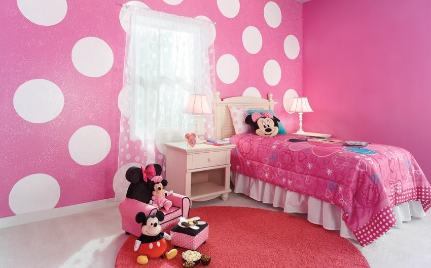 Pin By Stacia Foster On Hayden Girl Bedroom Decor Minnie Mouse