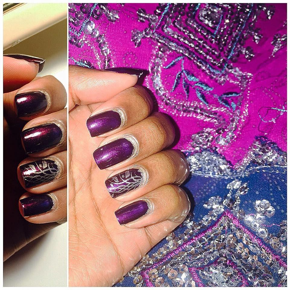 Nail Art Ideas purple and gold nail art : purple and gold nail art | Nail Art | Pinterest | Gold nail art ...