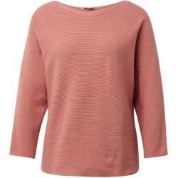 Photo of Tom Tailor Damen Pullover mit Streifenstruktur, rosa, unifarben, Gr.L Tom TailorTom Tailor