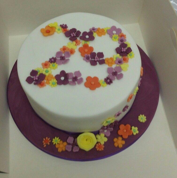 Gluten free flowers cake wwwfacebookcomditsyscakes Ditsys