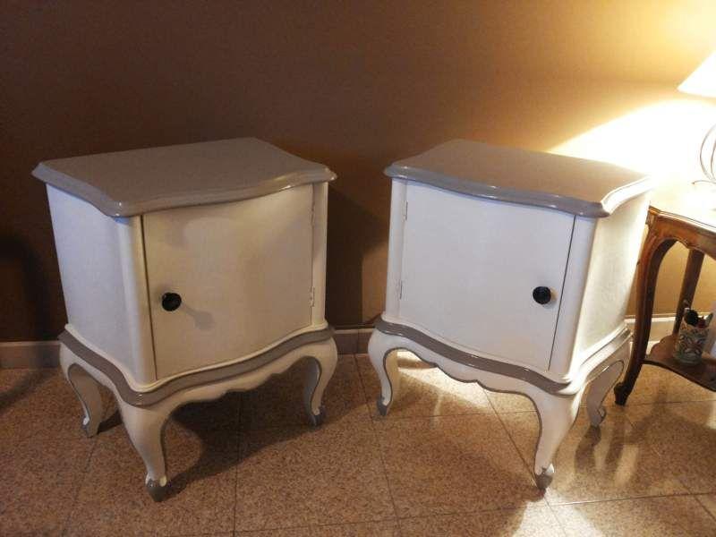 Credenza Provenzale Ikea : Coppia comodini laccati stile provenzale pinturas vintage