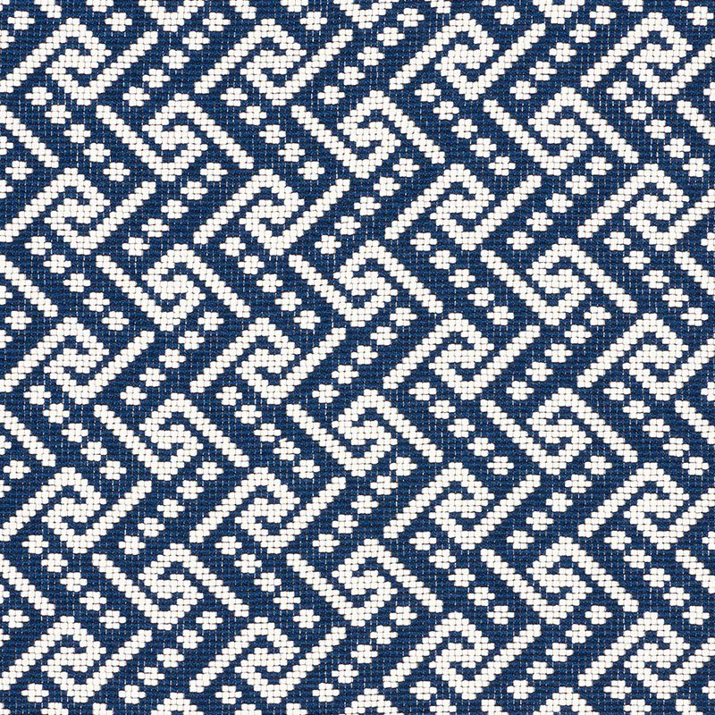 77120 Ionic Weave Pacific By Schumacher Weaving Fabric Fabric