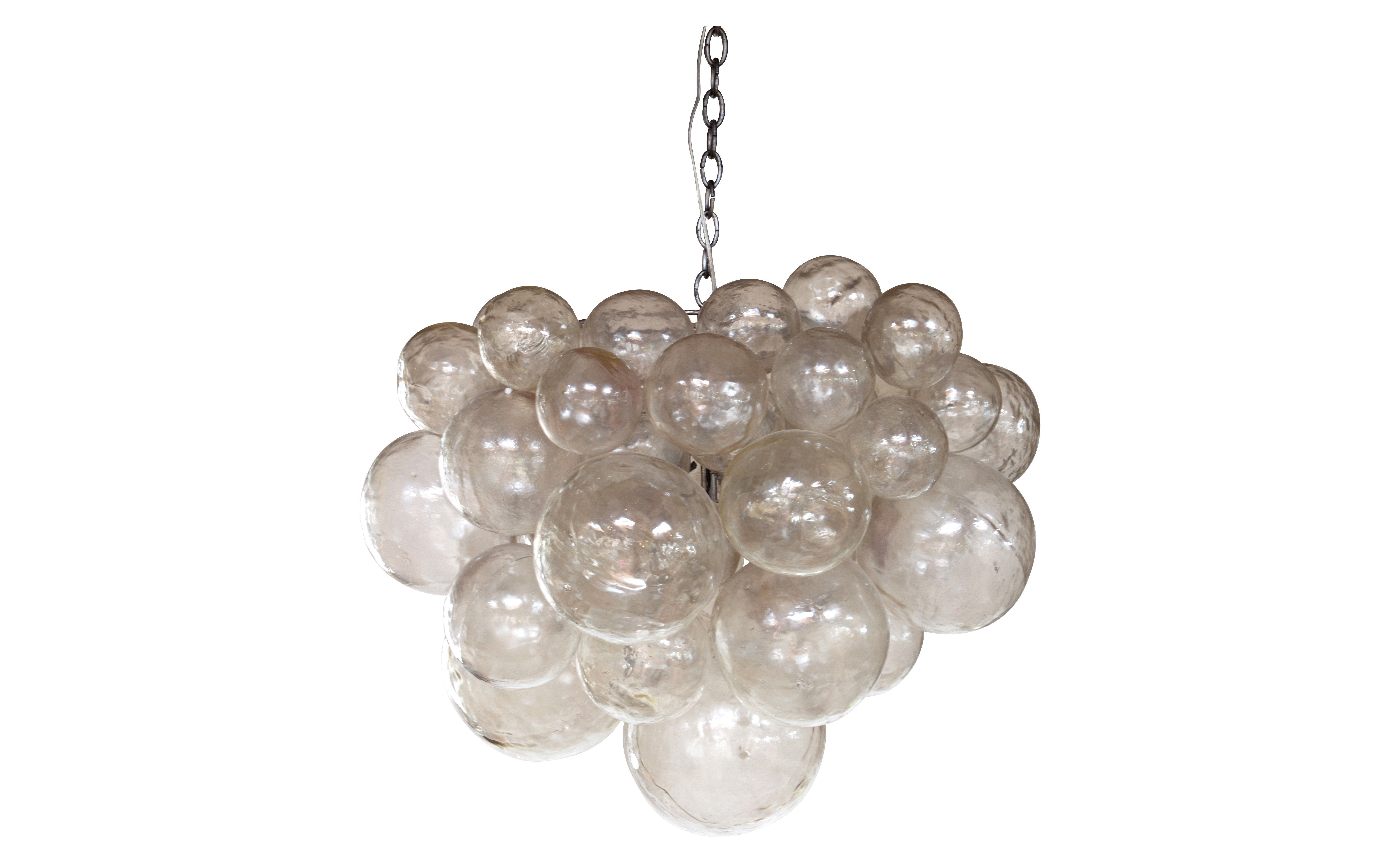 Muriel chandelier if i had 3k or more to spend on a glass bubble oly muriel chandelier with resin bubbles takes five bulbs aloadofball Images