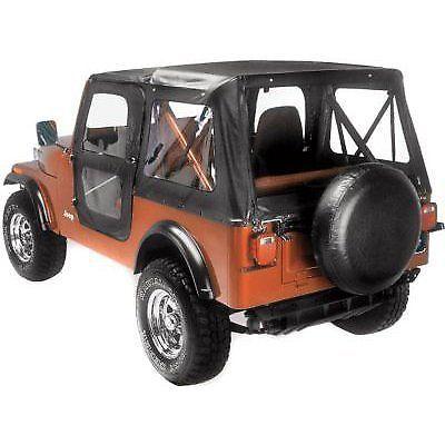 Bestop New Soft Top Black Jeep Cj5 1976 1983 Mobil
