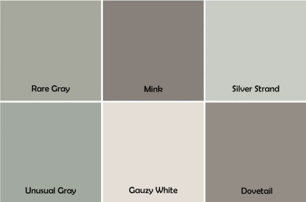 Mink sw 6004 gray with a brown tint and a hint of for Best interior grey paint