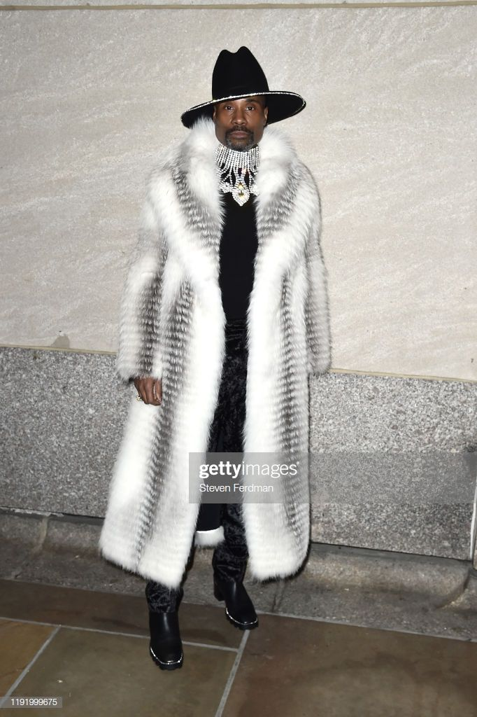 Billy Porter attends the 87th Annual Rockefeller Center