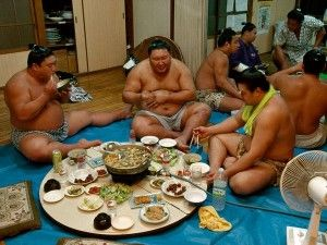 Are You Eating A Sumo Wrestler Diet Hasfit Sumo Wrestler Diet Japan Culture Art Japan