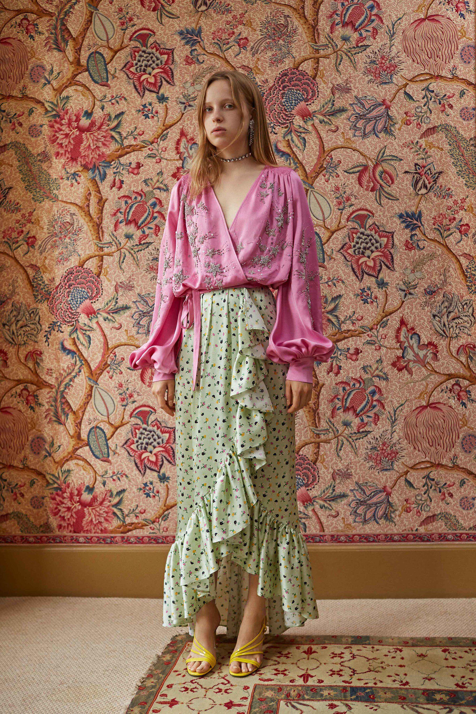 Attico spring readytowear fashion show collection spring