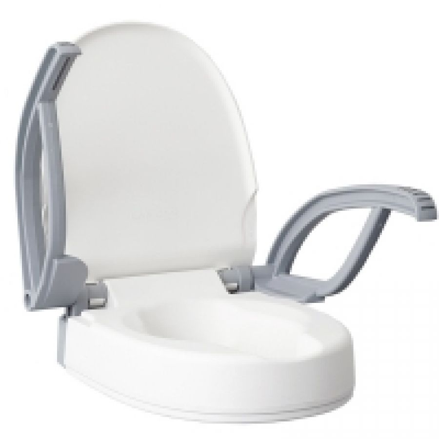 Raised toilet seats product 1 handicapped accessories - Handicap bars for bathroom toilet ...